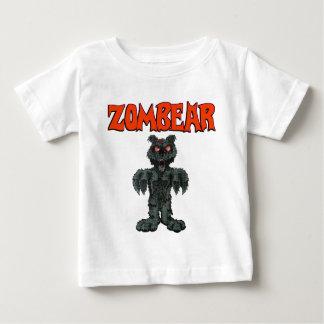 Camiseta Para Bebê T-SHIRT da CRIANÇA de ZombieZ ZOMBEAR
