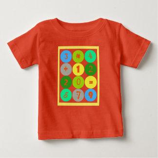 Camiseta Para Bebê T-shirt da criança do gênio da matemática