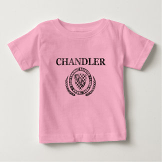 Camiseta Para Bebê T-shirt da crista do Grunge dos bebês