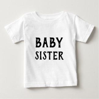 Camiseta Para Bebê T-shirt da irmã do bebê