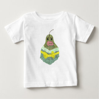 Camiseta Para Bebê T-shirt da senhora Pera Nenhum Fundo Bebê