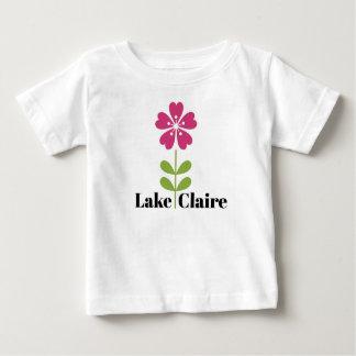Camiseta Para Bebê T-shirt de Claire do lago