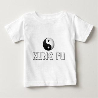 Camiseta Para Bebê T-shirt de Kung Fu