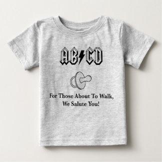 Camiseta Para Bebê T-shirt de RockBaby