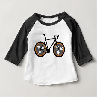 Camiseta Para Bebê T-shirt de Tennessee da bicicleta