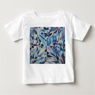 Camiseta Para Bebê T-shirt de vidro do jérsei da multa do bebê do