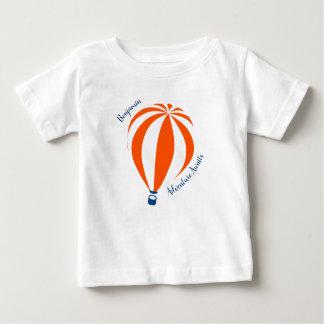 Camiseta Para Bebê T-shirt do balão de ar quente