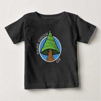 Camiseta Para Bebê T-shirt do bebê - canção da árvore da união da
