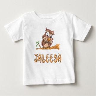 Camiseta Para Bebê T-shirt do bebê da coruja de Jaleesa