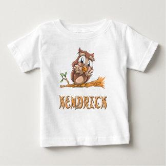 Camiseta Para Bebê T-shirt do bebê da coruja de Kendrick