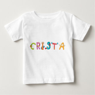 Camiseta Para Bebê T-shirt do bebê da crista