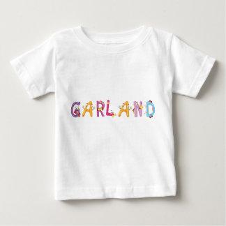 Camiseta Para Bebê T-shirt do bebê da festão