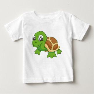 Camiseta Para Bebê T-shirt do bebê da tartaruga