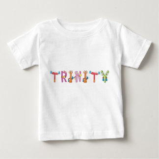 Camiseta Para Bebê T-shirt do bebê da trindade