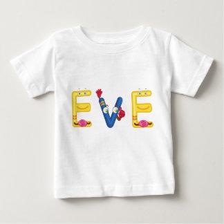 Camiseta Para Bebê T-shirt do bebê da véspera