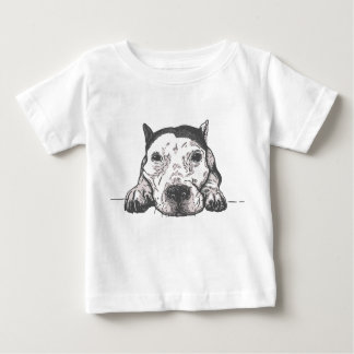 Camiseta Para Bebê T-shirt do bebê das salmouras