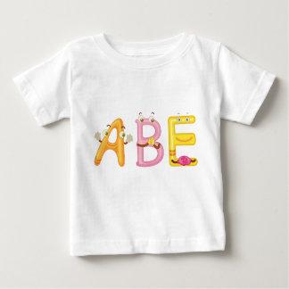 Camiseta Para Bebê T-shirt do bebê de Abe