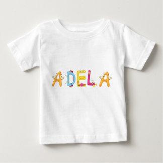Camiseta Para Bebê T-shirt do bebê de Adela