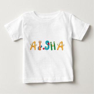Camiseta Para Bebê T-shirt do bebê de Aisha