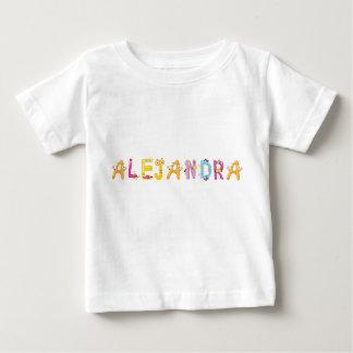 Camiseta Para Bebê T-shirt do bebê de Alejandra
