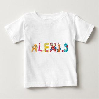 Camiseta Para Bebê T-shirt do bebê de Alexis
