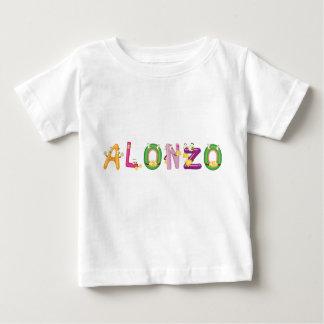 Camiseta Para Bebê T-shirt do bebê de Alonzo