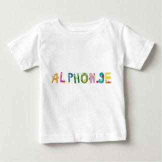 Camiseta Para Bebê T-shirt do bebê de Alphonse