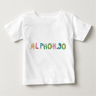 Camiseta Para Bebê T-shirt do bebê de Alphonso
