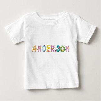 Camiseta Para Bebê T-shirt do bebê de Anderson