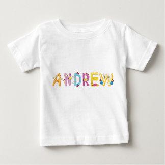 Camiseta Para Bebê T-shirt do bebê de Andrew