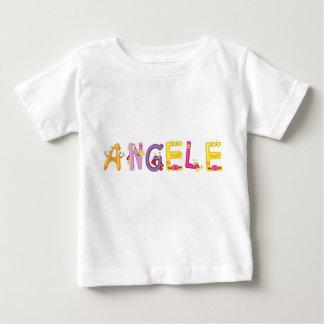 Camiseta Para Bebê T-shirt do bebê de Angele