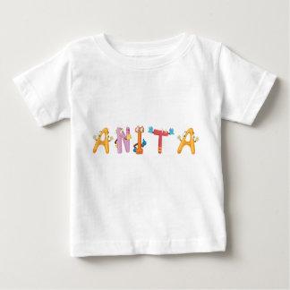 Camiseta Para Bebê T-shirt do bebê de Anita