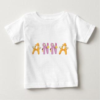 Camiseta Para Bebê T-shirt do bebê de Anna