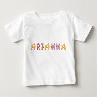 Camiseta Para Bebê T-shirt do bebê de Arianna