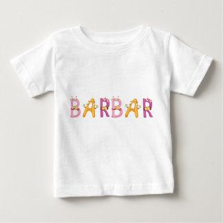 Camiseta Para Bebê T-shirt do bebê de Barbar