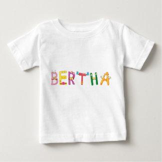 Camiseta Para Bebê T-shirt do bebê de Bertha