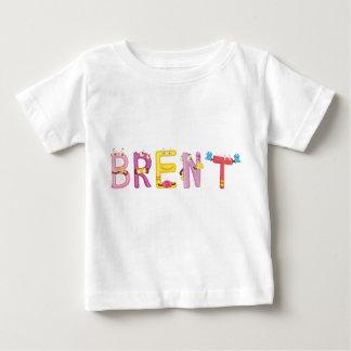 Camiseta Para Bebê T-shirt do bebê de Brent