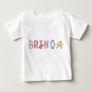Camiseta Para Bebê T-shirt do bebê de Brinda