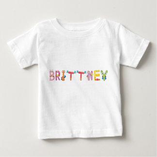 Camiseta Para Bebê T-shirt do bebê de Brittney