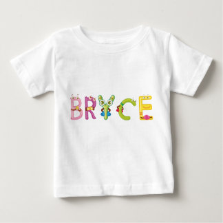 Camiseta Para Bebê T-shirt do bebê de Bryce