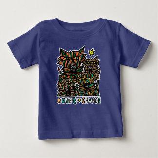 """Camiseta Para Bebê """"T-shirt do bebê de BuddaKats da mudança quieta"""""""