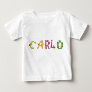 Camiseta Para Bebê T-shirt do bebê de Carlo