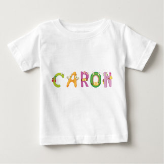 Camiseta Para Bebê T-shirt do bebê de Caron