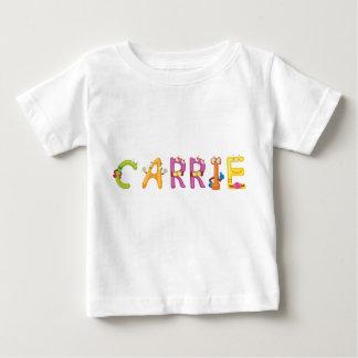 Camiseta Para Bebê T-shirt do bebê de Carrie