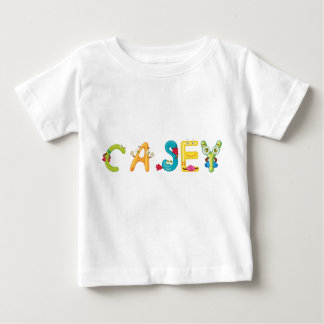 Camiseta Para Bebê T-shirt do bebê de Casey