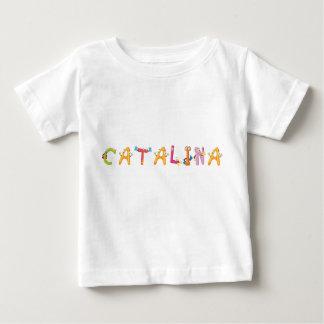 Camiseta Para Bebê T-shirt do bebê de Catalina