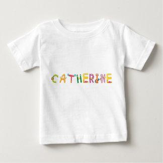 Camiseta Para Bebê T-shirt do bebê de Catherine