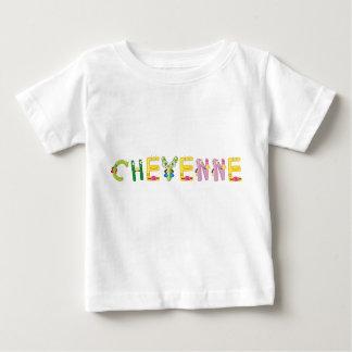 Camiseta Para Bebê T-shirt do bebê de Cheyenne