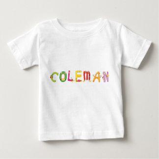 Camiseta Para Bebê T-shirt do bebê de Coleman