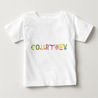 Camiseta Para Bebê T-shirt do bebê de Courtney